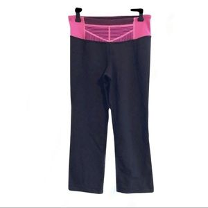 Lululemon Split leg crop yoga pants. Size 6
